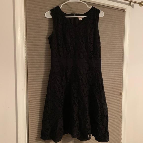 Merona Dresses & Skirts - 🔥 MUST GO - Black Lace Dress